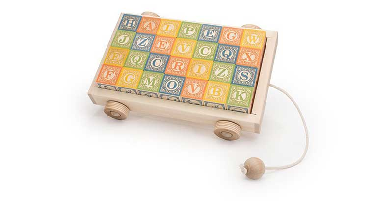 ABC Blocks and Wagon toy