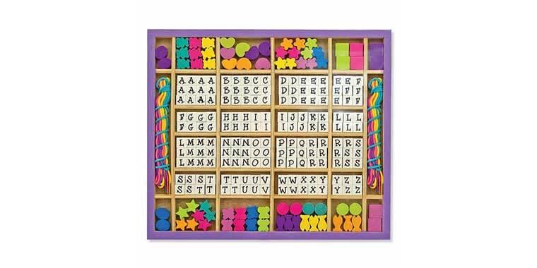 Alphabet bead ABC toy