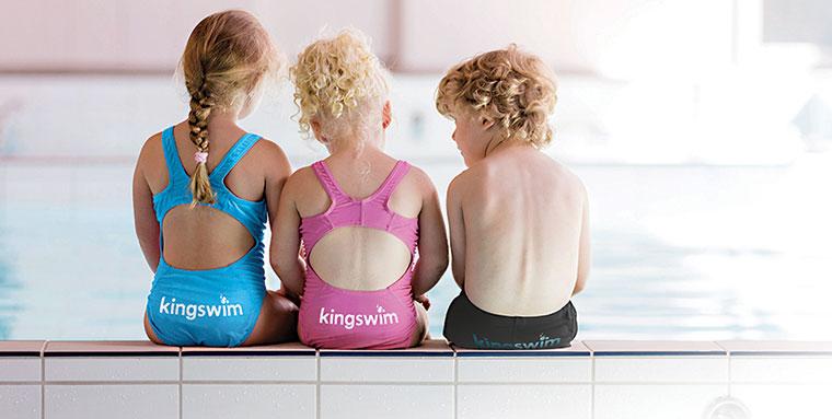 Kids swim lessons at Kingswim