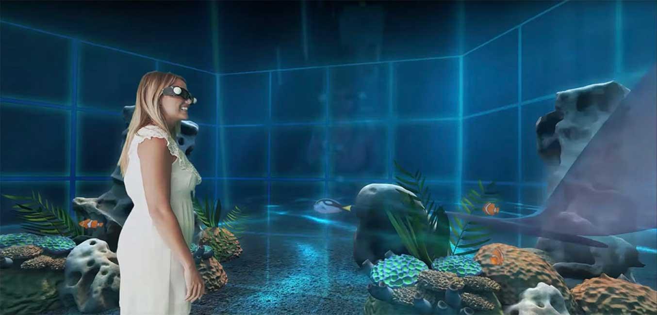 Holoverse-underwater