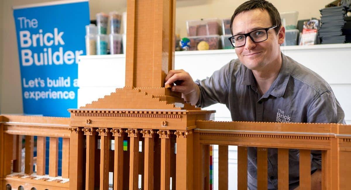 Brisbane City Hall Lego Build