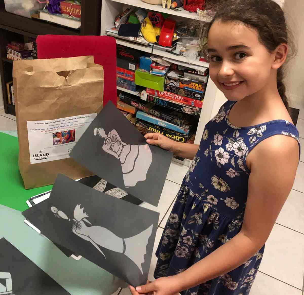 Free school holiday activity kits from Caloundra Regional Gallery