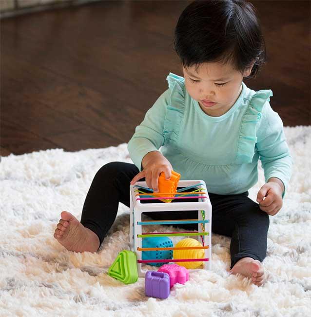 Inny Bin sensory toy for babies