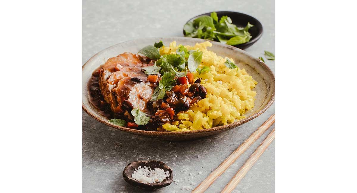 Youfoodz blacken and cauliflower rice
