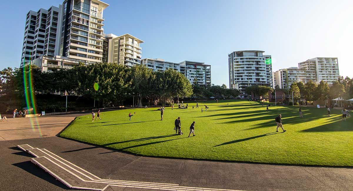 Spring school holiday in Brisbane