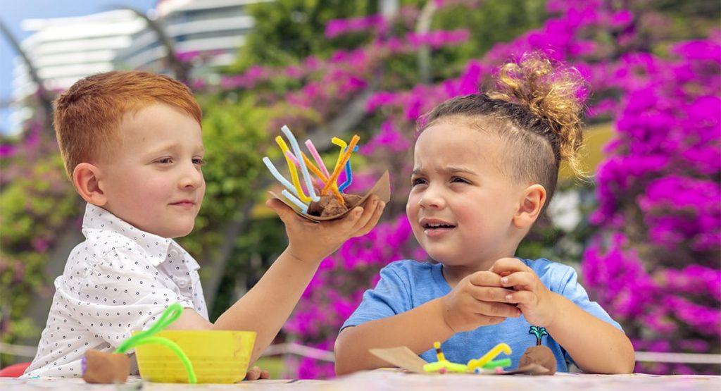Children at Kids Collective - a weekly kids activity in Brisbane