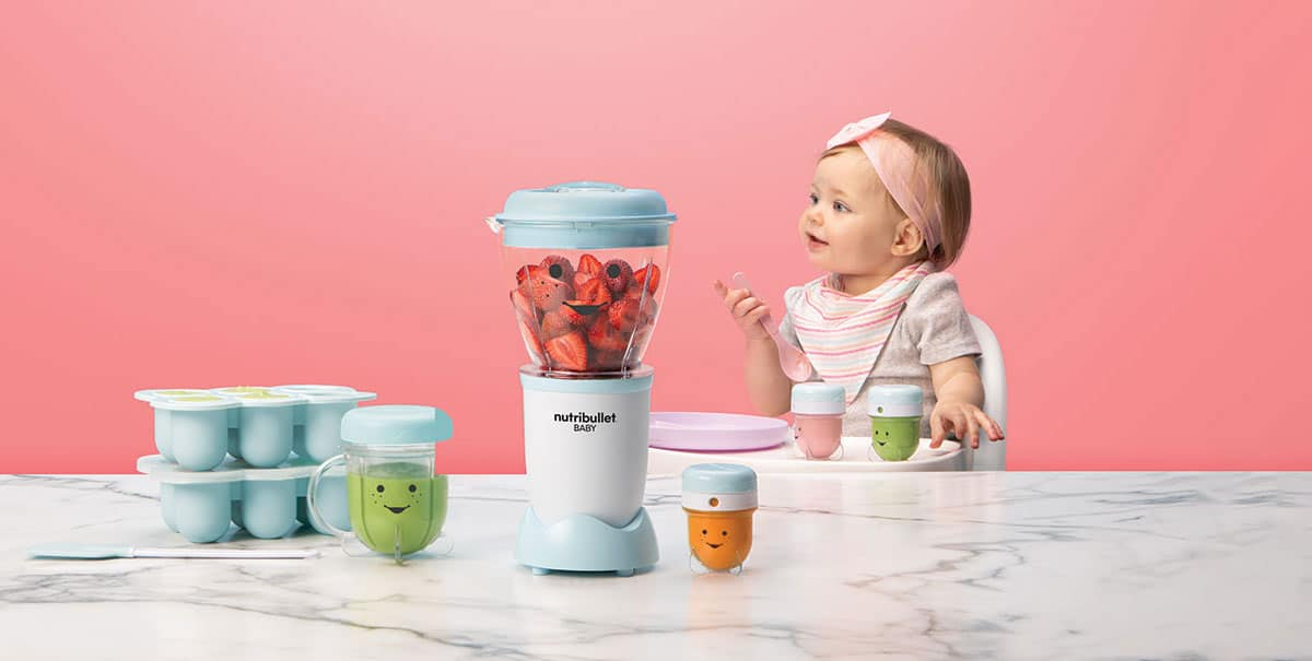 baby and nutribullet