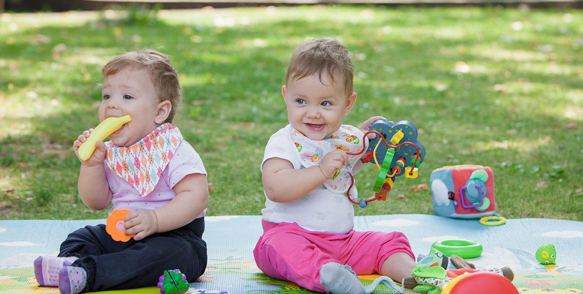 babies at playgroup
