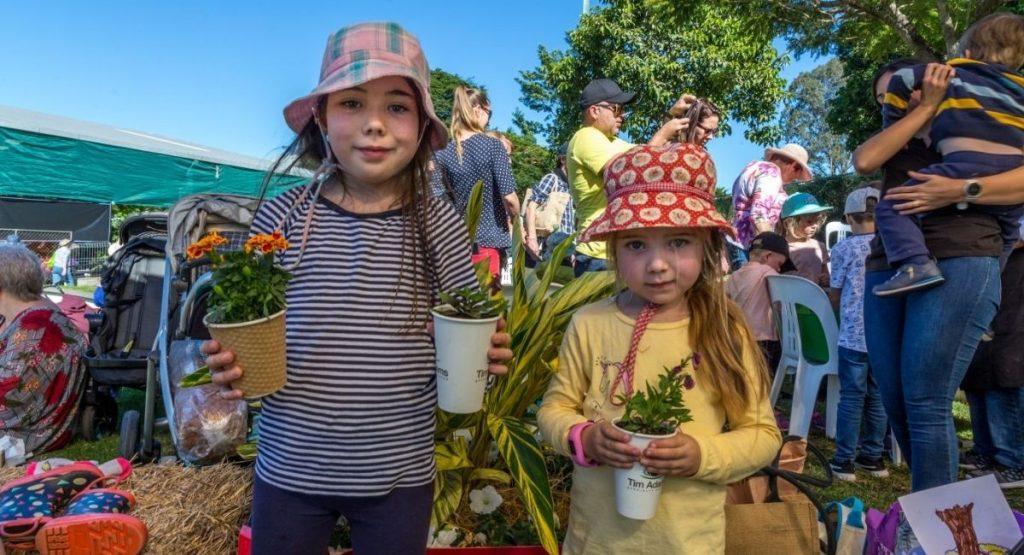 Kids at Queensland Garden Expo