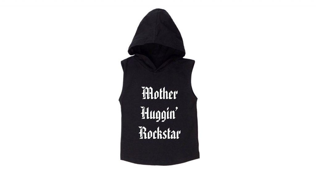 MLW sleeveless hoodie