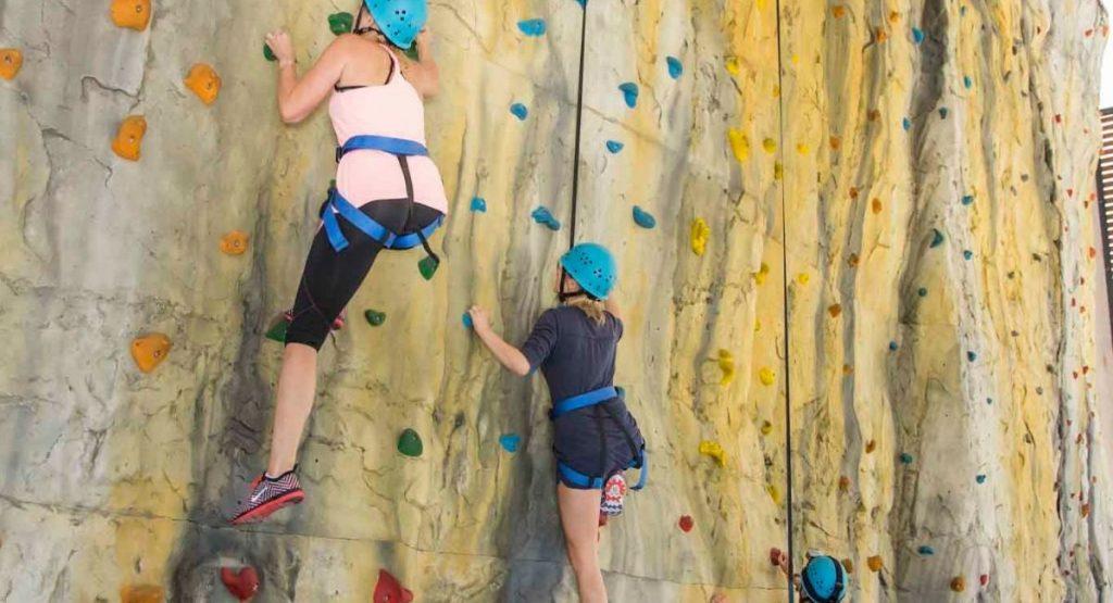 Rock Climbing at QLD Recreation Centre