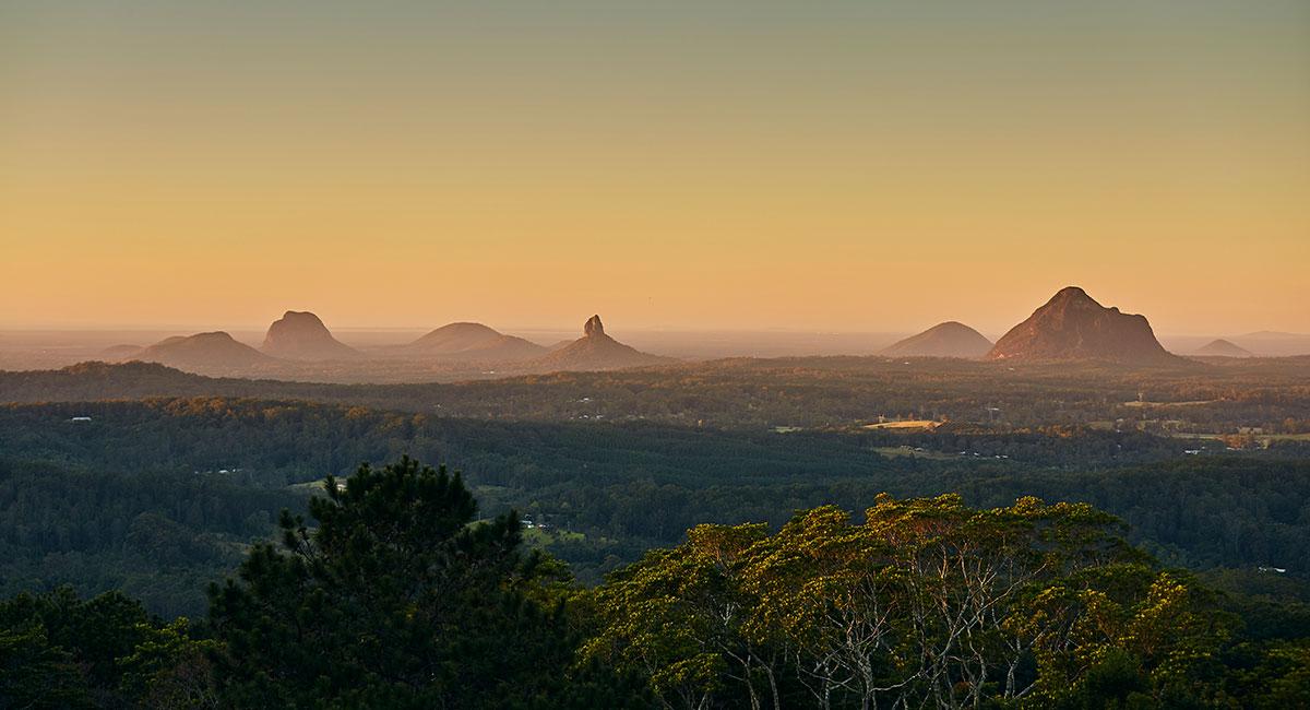 Sunshine Coast Glasshouse Mountains