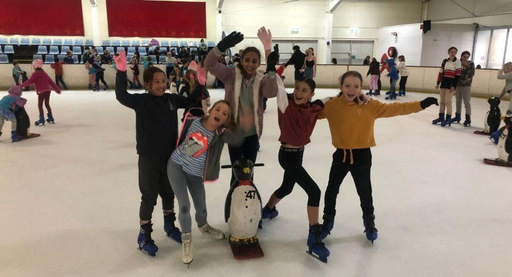 kids at Iceworld