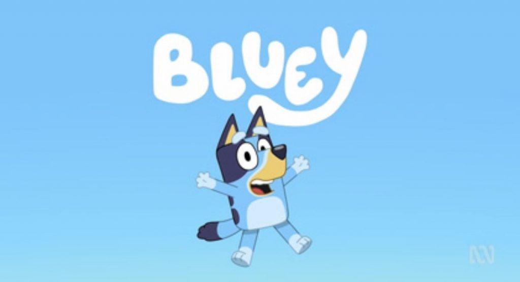 Bluey at Noosa Civic