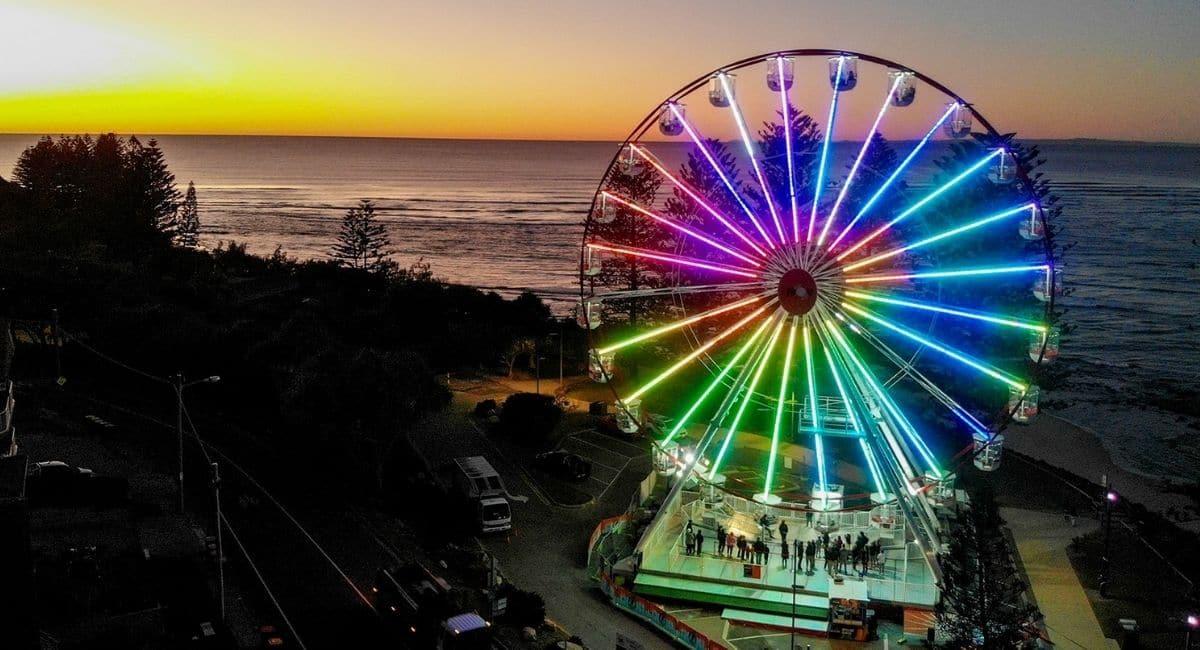 The Giant Wheel returns to Caloundra!