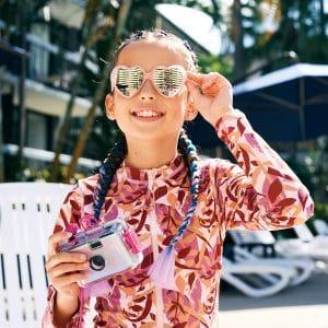 Child at Paradise Resort