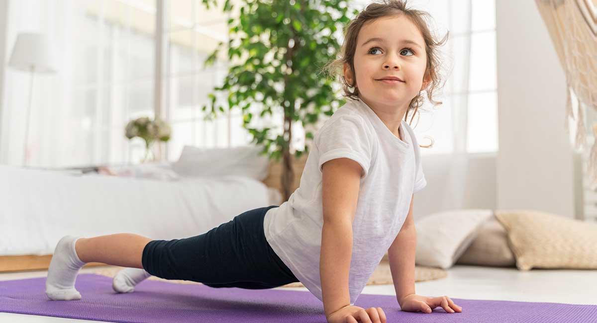 Restorative yoga for kids