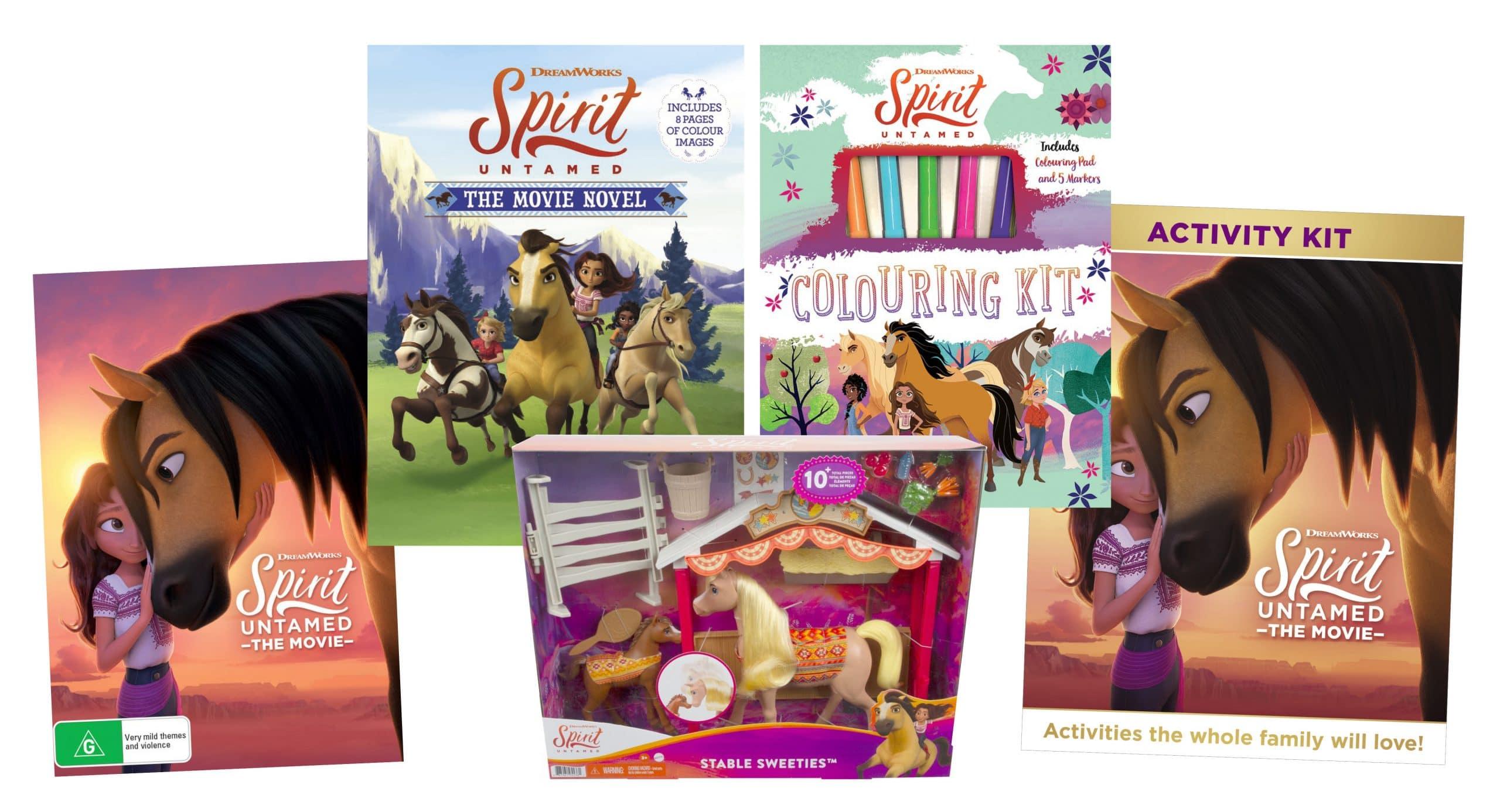 Spirit Untamed DVD Prize Pack