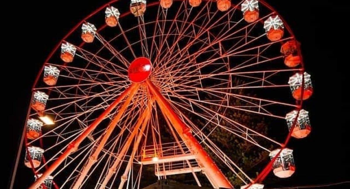 Hot 91 Giant Wheel