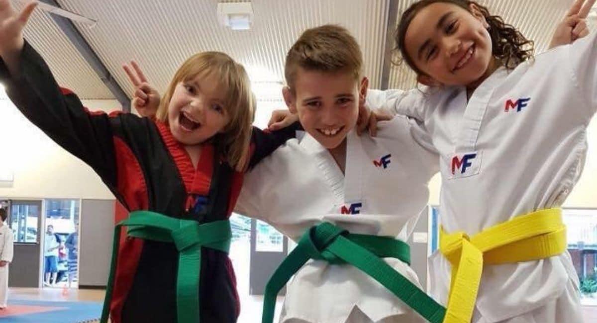 Martial arts classes running right through school holidays
