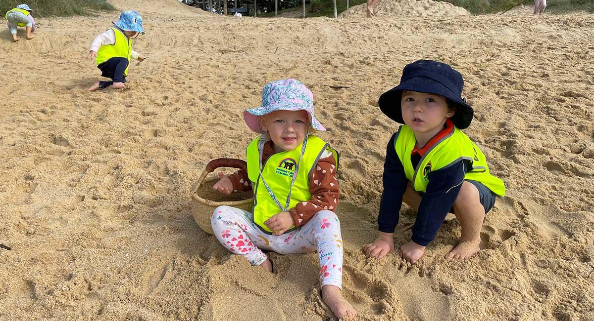 Currimundi-beach-kindy-playing