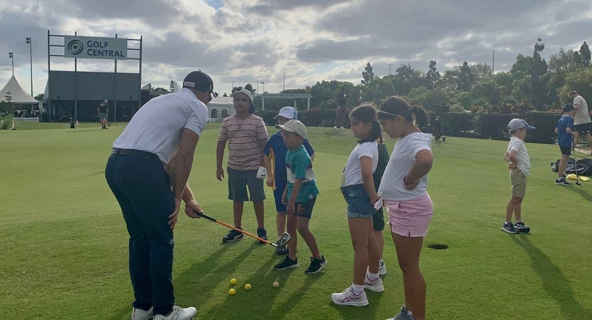 School holiday golf clinics
