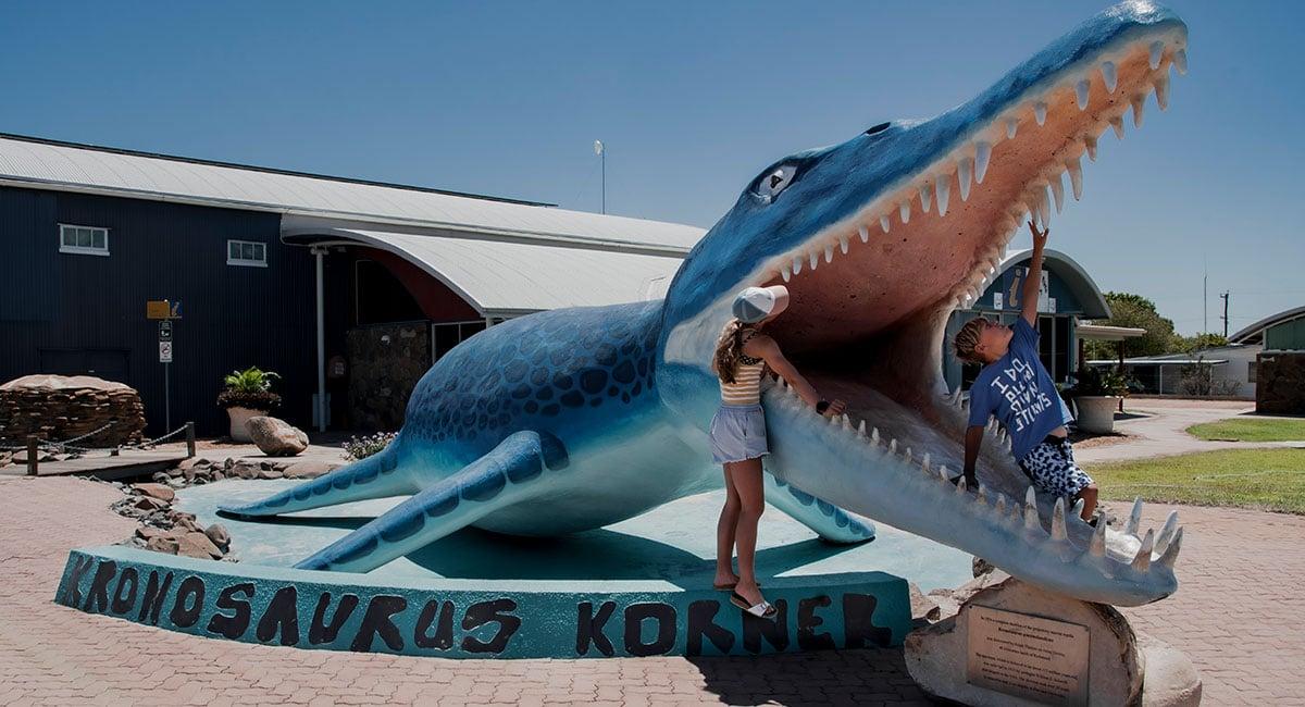 Kronosaurus-Korner - big things in Australia