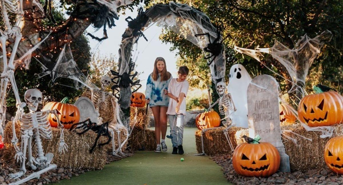 Halloween Putt Putt | Victoria Park Brisbane