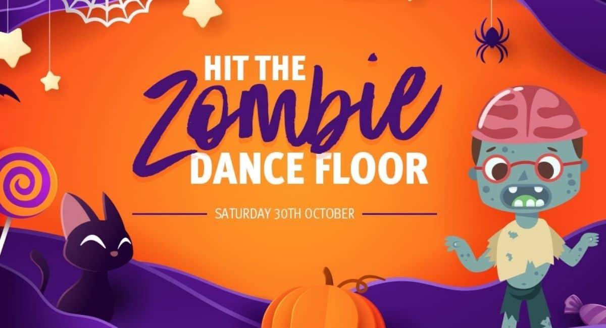 Halloween Zombie Dance Floor | Ipswich Riverlink Shopping Centre